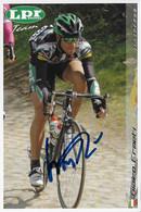CARTE DU CYCLISME, GIAIRO ERMETI TEAM LPR 2006 - Cycling