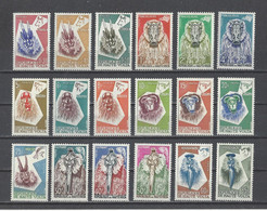 HAUTE-VOLTA.  YT   N° 71/88   Neuf **  1960 - Upper Volta (1958-1984)
