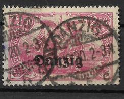 Danzig,  Gestempelter Wert Der Aufdruck-Ausgabe  Vom 14. Juni 1920 - Danzig