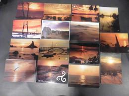 LOT  DE  1033    CARTES   POSTALES   COUCHERS   DE   SOLEIL - 500 Postkaarten Min.