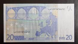 20 Euro Draghi R025 L41 UNC Germany / Finland - 20 Euro
