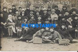 167475 REAL PHOTO COSTUMES CHILDREN HELP JUDAICA POSTAL POSTCARD - Photographs