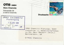 Ganzsache, Postkarte 1991 - Privatpostkarten - Gebraucht