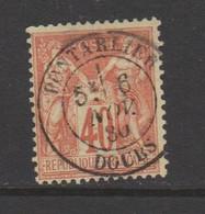 Sage Type I N Sous B  40c Rouge-orange N°70 - 1876-1878 Sage (Type I)
