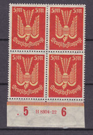 Germany - Reich 1920/1923 - 1922 Year _ Michel 218 HAN - MH - Ungebraucht