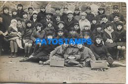 167497 REAL PHOTO COSTUMES CHILDREN HELP JUDAICA POSTAL POSTCARD - Photographs