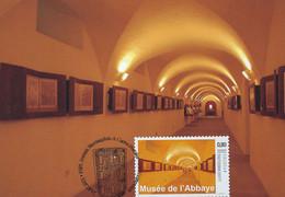 Luxembourg - Luxemburg -  Carte Maximum Musée De L'Abbaye D'Echternach - Cartes Maximum