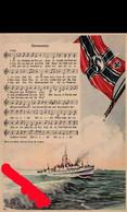 (art 3514) AK Kriegsmarine Fahne Swastika - Weltkrieg 1939-45