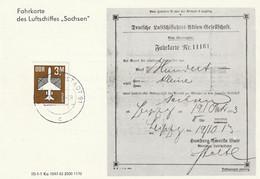 Ganzsache, Postkarte 1983 - Privatpostkarten - Gebraucht