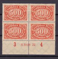 Germany - Reich 1920/1923 - 1922 Year _ Michel 251 HAN - MH - Ungebraucht