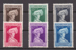 LUXEMBOURG - 1936 CARITAS DUCA VENCESLAO I - SERIE MNH - Unused Stamps