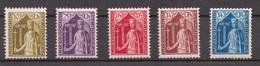 LUXEMBOURG - 1932 CARITAS CONTESSA ERMESINDA - SERIE MNH - Unused Stamps
