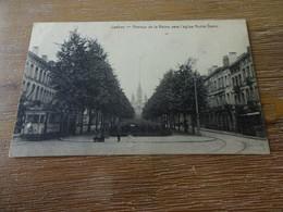 Laeken Avenue De La Reine Vers L'église Notre Dame - Laeken