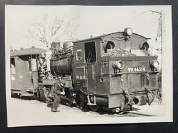 Rügen Lok Mit Führer - Treni