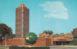 """RACINE, Wisconsin, 1950-60s; Johnson's Wax - One Of The """"Seven Art Wonders Of America"""" - Racine"""