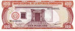 "Dominican Republic 100 Pesos Oro 1993 UNC P-136 ""free Shipping Via Registered Air Mail"" - Dominicana"