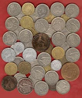 ** LOT  50  MONNAIES  ESPAGNE ** - [ 8] Collections
