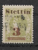 Privatpost Stettin, Gestempelter Wert Der Ausgabe Der Stadtbrief-Beförderungs-Gesellschaft  Von 1887 - Private