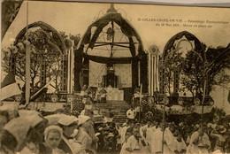 St-GILLES CROIX DE VIE —Pelerinage Eucharistique Du 26 Mai 1910- Messe En Plein Air - Saint Gilles Croix De Vie
