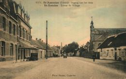 St Antonius(Brecht) Ingang Van Het Dorp Hoelen9371-licht Gekleurd - Brecht