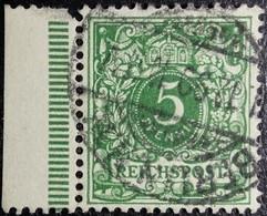 Allemagne Empire YT N°46 BdF. Oblitéré. Berlin - Usati