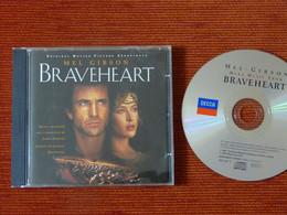 CD BOF/OST - BRAVEHEART - MEL GIBSON - James HORNER - 448 295-2 - 1995 - Musica Di Film
