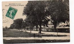 16 - RUFFEC - Une Promenade Et L'Hôpital - Animée (G109) - Ruffec