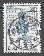 "DENMARK - 1937 Christian X / Silver Jubilee 30 Ore ""LYDERSLEV"" Cancel VFU- Facit 284 - Usado"