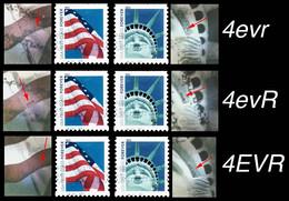 Etats-Unis / United States (Scott No.4559-64 - Flag & Liberty) (o) 6 Timbres - Oblitérés