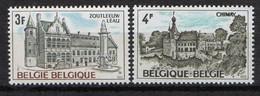 BELGIQUE ( POSTE ) Y&T N°  1685/1686  TIMBRES  NEUFS  SANS  TRACE  DE  CHARNIERE. A  SAISIR . - Ungebraucht