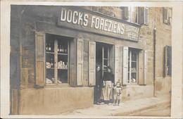 Carte Photo DOCKS FORÉZIENS Succursale N° 58 - Shops