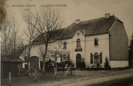 Arlon Environs De // LA Maison Blanche (Cafe) 1907 Vlek Links Boven - Arlon