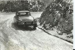 D S 19 VICTORIEUSE DU CRITERIUM NEIGE ET GLACE 1962 - Passenger Cars