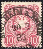 Allemagne Poste Obl Yv: 32 Mi:33a Aigle Impérial (TB Cachet à Date) Mulheim Am Rhein 20-2-80 - Gebraucht