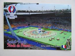 Stadium Of Final 2016 Stade De France Saint-Denis, France History Of EURO Championship - Stadi