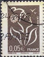 France Poste Obl Yv:3754B Yv:0,15 Euro Marianne De Lamouche (Obl.mécanique) - Usados