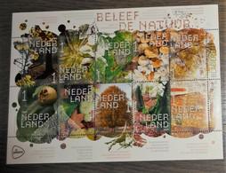 Nederland - NVPH - V3776/85 - 2019 - Postfris - Beleef De Natuur - Vel - Bomen En Bladeren - Unused Stamps