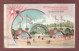 Vaud - LAUSANNE 1910 - Exposition D'Agriculture - VD Vaud