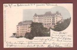 Vaud - LAUSANNE - Nouvelle Poste Et Ecole Vinet - 1900 - VD Vaud