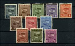 SBZ 1945 Nr 73-84X Postfrisch (111843) - Sovjetzone
