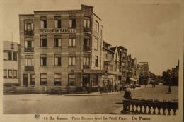De - La Panne /  Place Docteur Abel De Wulf (Pension De Famille) 19?? Ed. Albert - De Panne