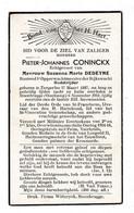 //  Opperwachtmeester Der Rijkswacht P.CONINCKX °TONGERLOO 1887 +STEENBRUGGE (OOSTKAMP) 1941 (M.DEDEYNE) - Images Religieuses