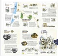Collector La Route Du Poisson  (8 Timbres) - Collectors