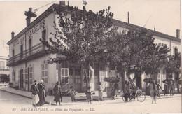 CPA/ALGERIE..........ORLEANSVILLE....HOTEL DES VOYAGEURS - Non Classés