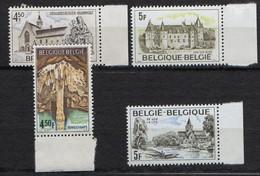 BELGIQUE ( POSTE ) Y&T N°  1827/1830  TIMBRES  NEUFS  SANS  TRACE  DE  CHARNIERE. A  SAISIR . - Ungebraucht