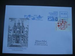 Österreich- Christkindl 27.12.2016, Schmuck-Beleg Mit Maschinenwerbestempel - 2011-... Cartas
