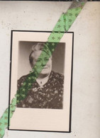 Valerie Marie Vermeulen, Steendorp 1895, Gent 1962. Foto - Todesanzeige