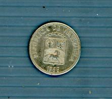 °°° Canada 5 Centimos 1965 Circolata °°° - Venezuela