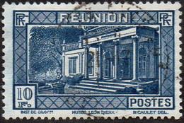 Réunion Obl. N° 147 - Vue -> Musée Léon Dierx à Saint Denis Le 10f Bleu - Oblitérés