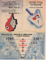 BONS DE LA LIBERATION - Advertising